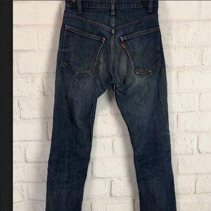 Levi's Vintage 70's orange tab denim jeans